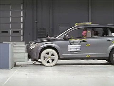 Dodge Journey crash test 2009-2012