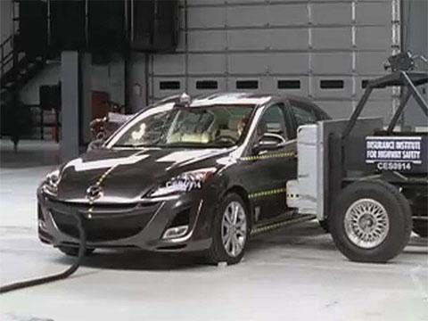 Mazda3 crash test 2010-2012