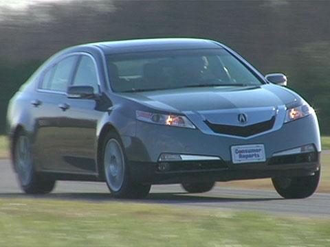 Acura TL 2009-2011 Road Test