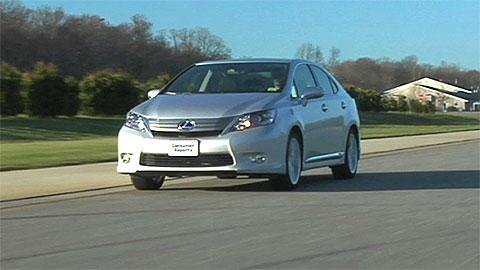 Lexus HS 250h 2010-2012 Road Test