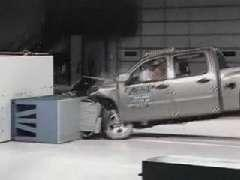 Chevrolet Silverado 1500 crash test 2007-2011