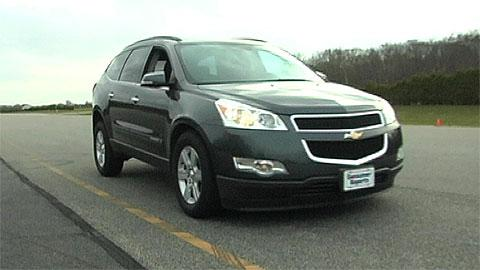 Chevrolet Traverse 2009-2012 Road Test