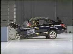 Mercedes-Benz C-Class crash test 2008-2012