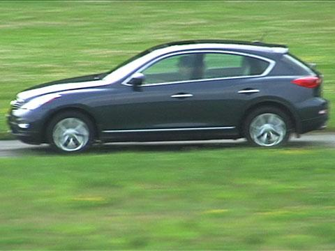 Infiniti EX35 2008-2010 Road Test