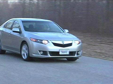 Acura TSX 2009-2014 Road Test