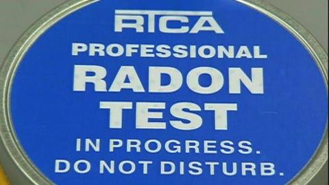 Radon test kits
