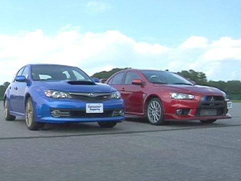 WRX STi vs. Mitsubishi Lancer Evolution