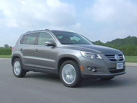 Volkswagen Tiguan 2009-2011 Road Test