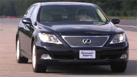 Lexus LS 460L 2007-2012 Road Test