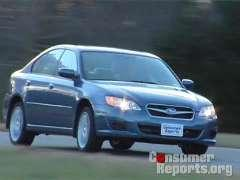 Subaru Legacy 2008-2009 Road Test