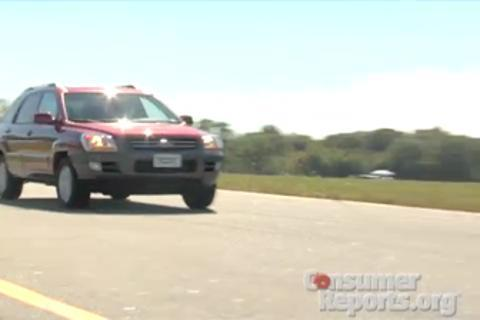 Kia Sportage 2005-2010 Road Test
