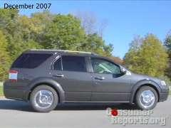 Ford Taurus X 2008-2010 Road Test