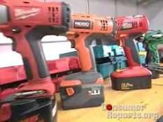 Cordless Drill Testing