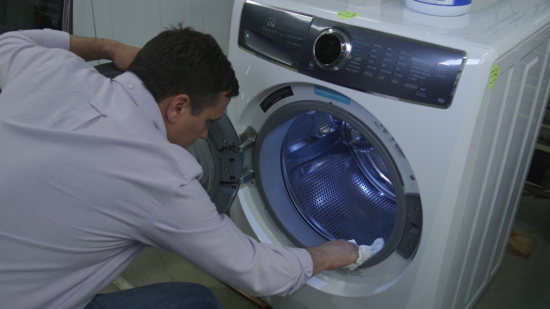 How to clean the washing machine with citric acid. How to clean the washing machine drum 68