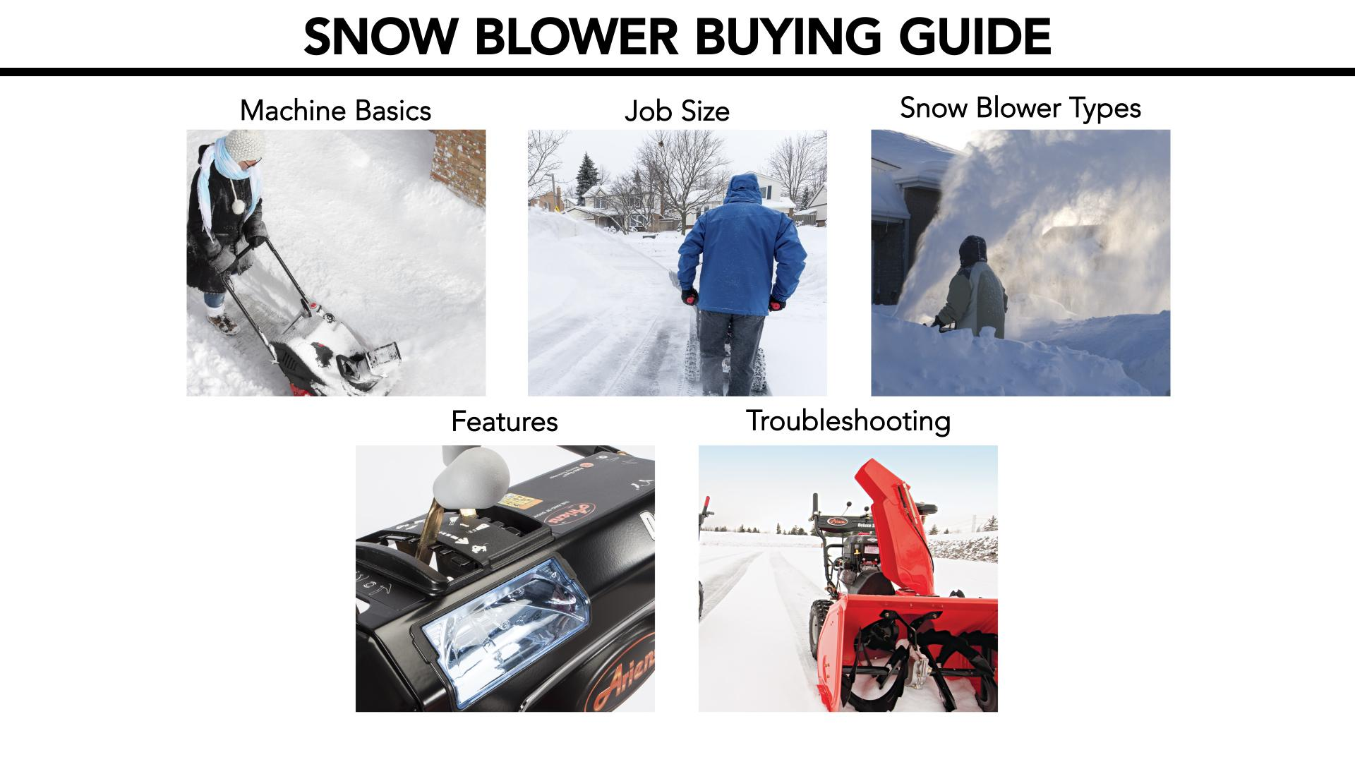 Best Snow Blower Reviews - Consumer Reports