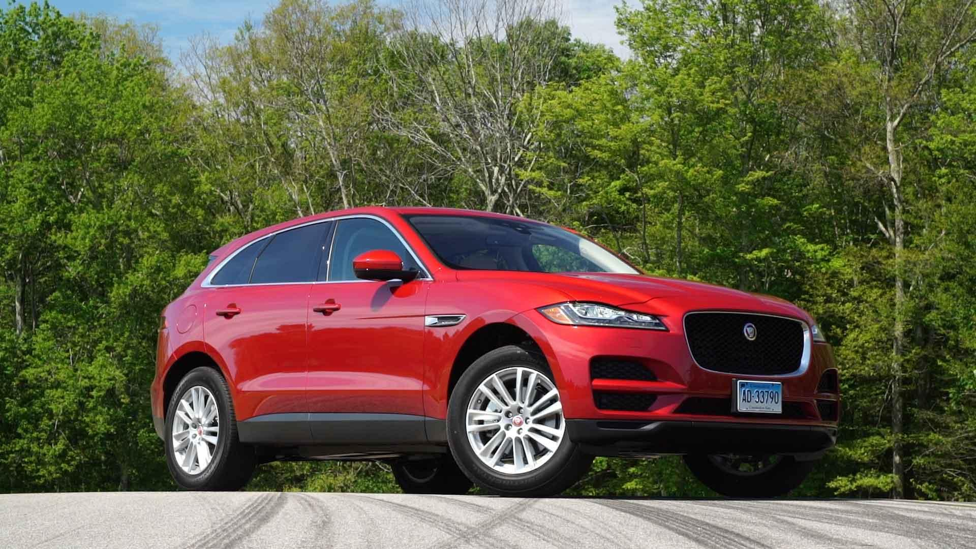 2019 Jaguar F Pace Road Test Consumer Reports