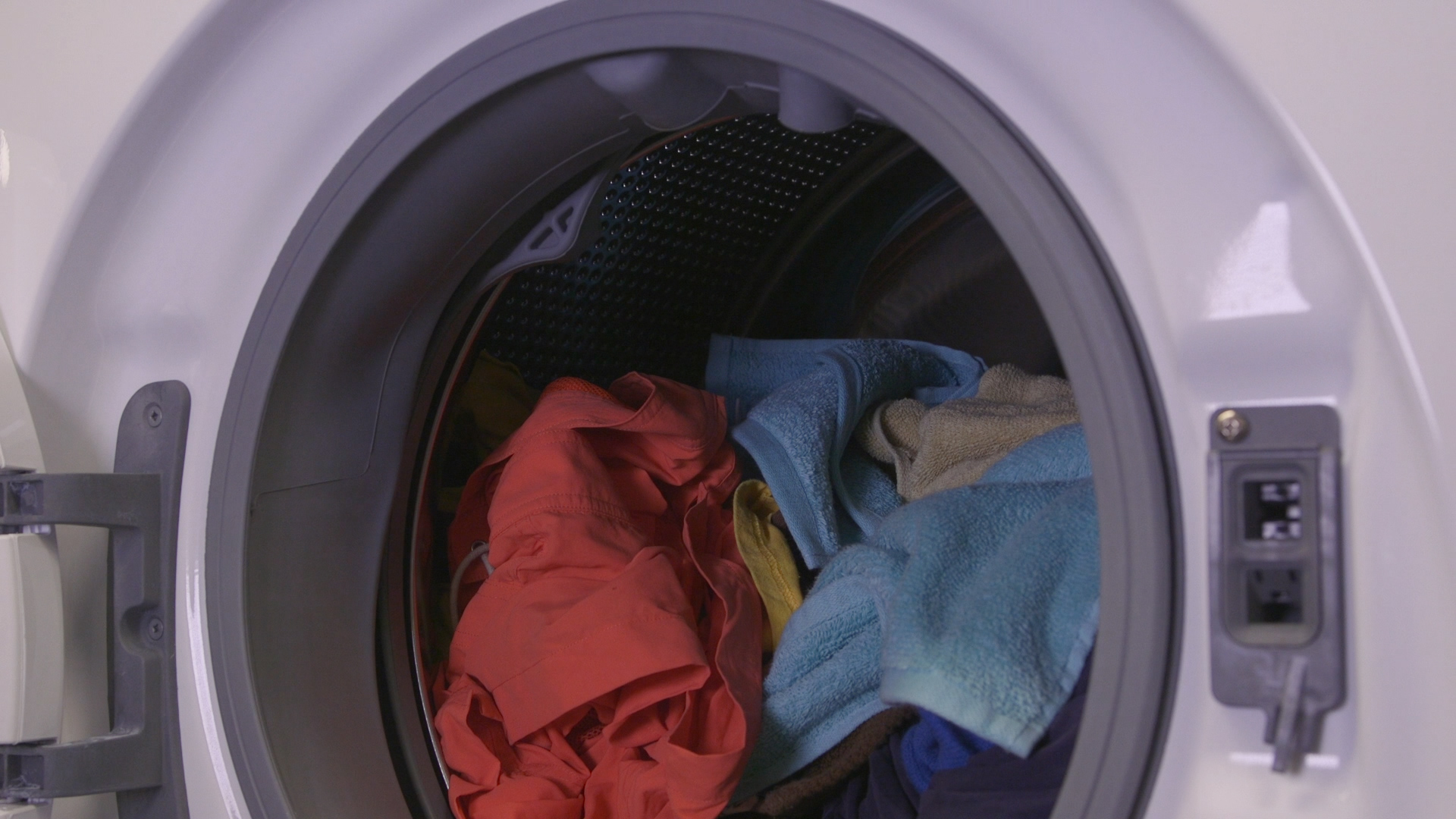 Washing Machine With Clothes ~ How to do laundry without ruining your clothes consumer