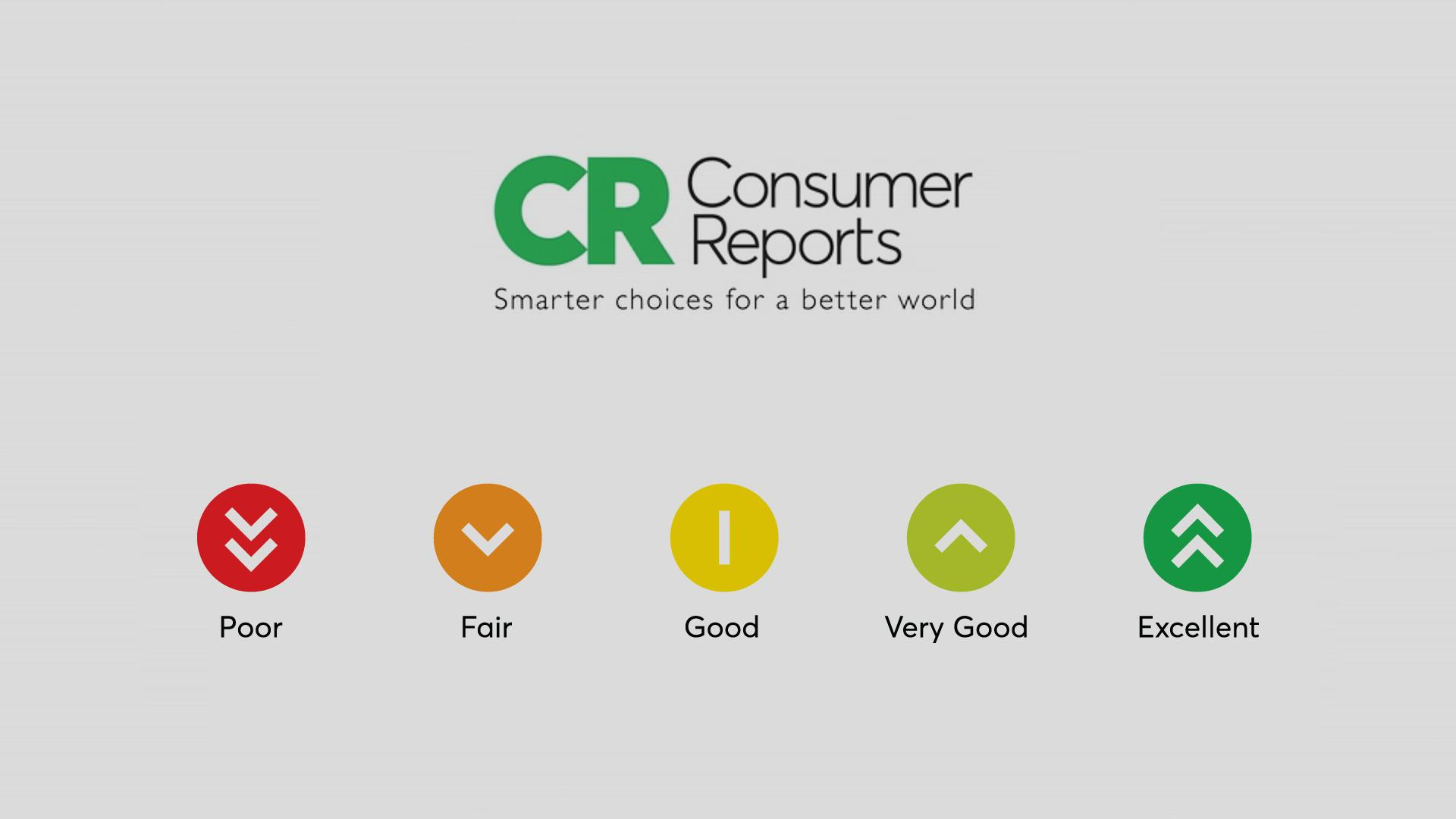 Image result for consumer reports rating system