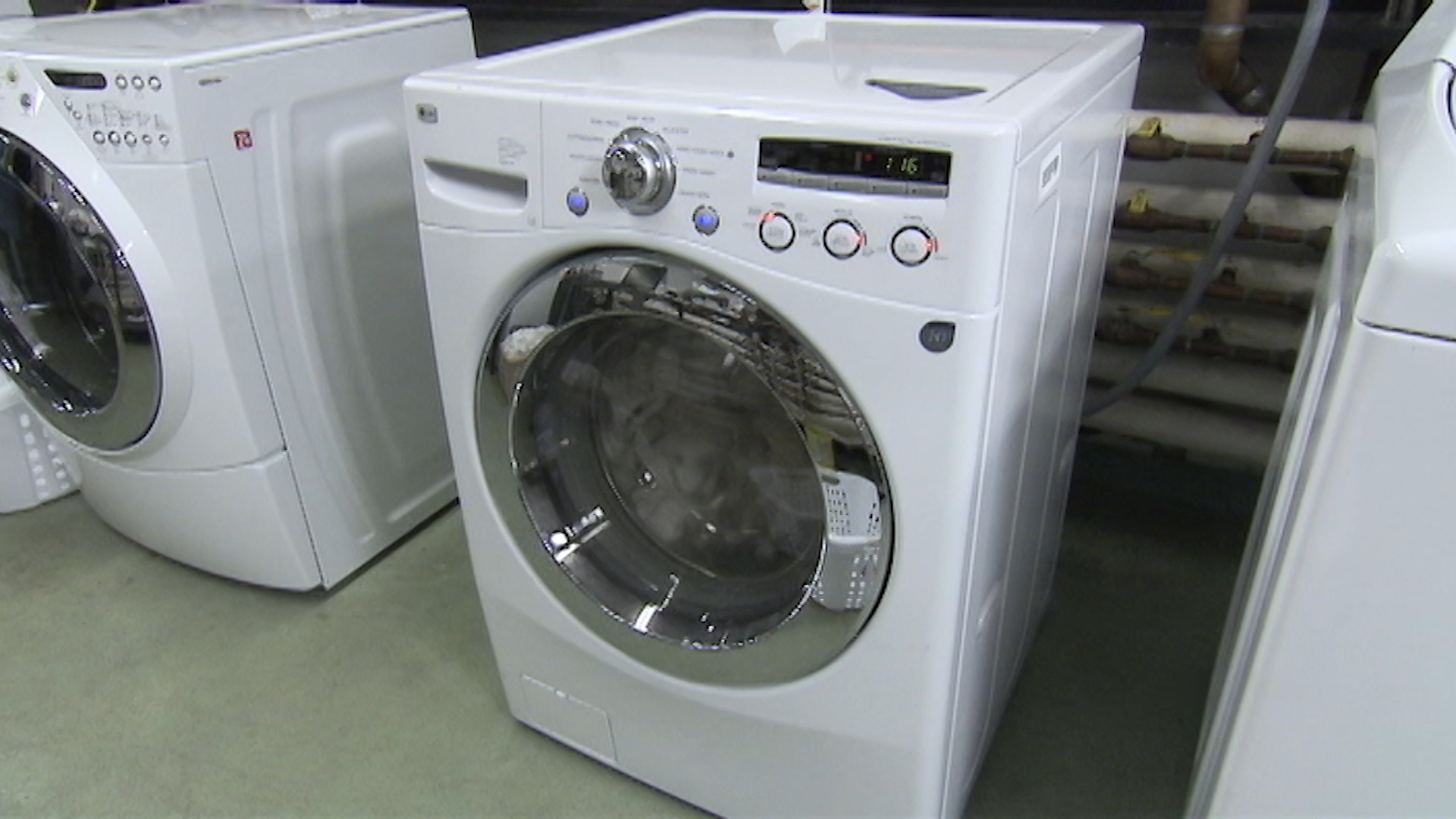 mold in frontloader washing machines