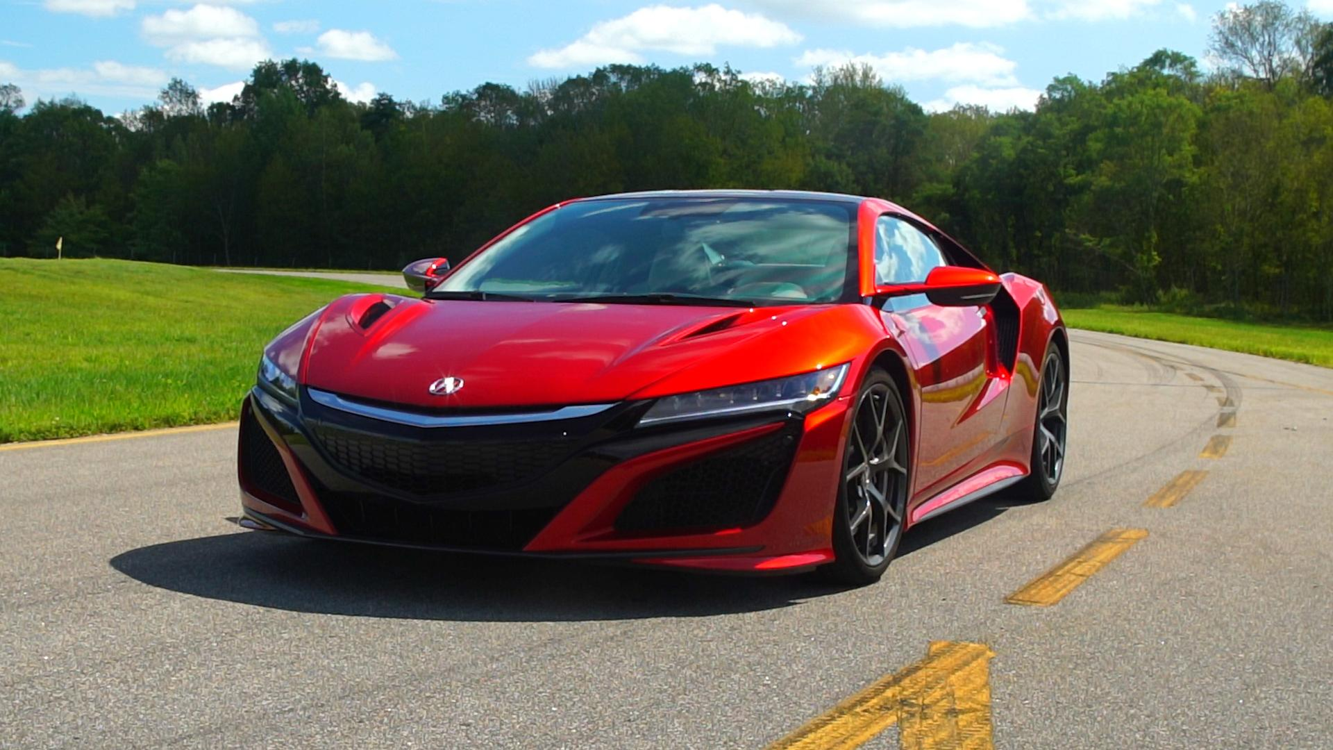 2017 Acura Nsx Hybrid Is The Friendly Supercar Consumer Reports