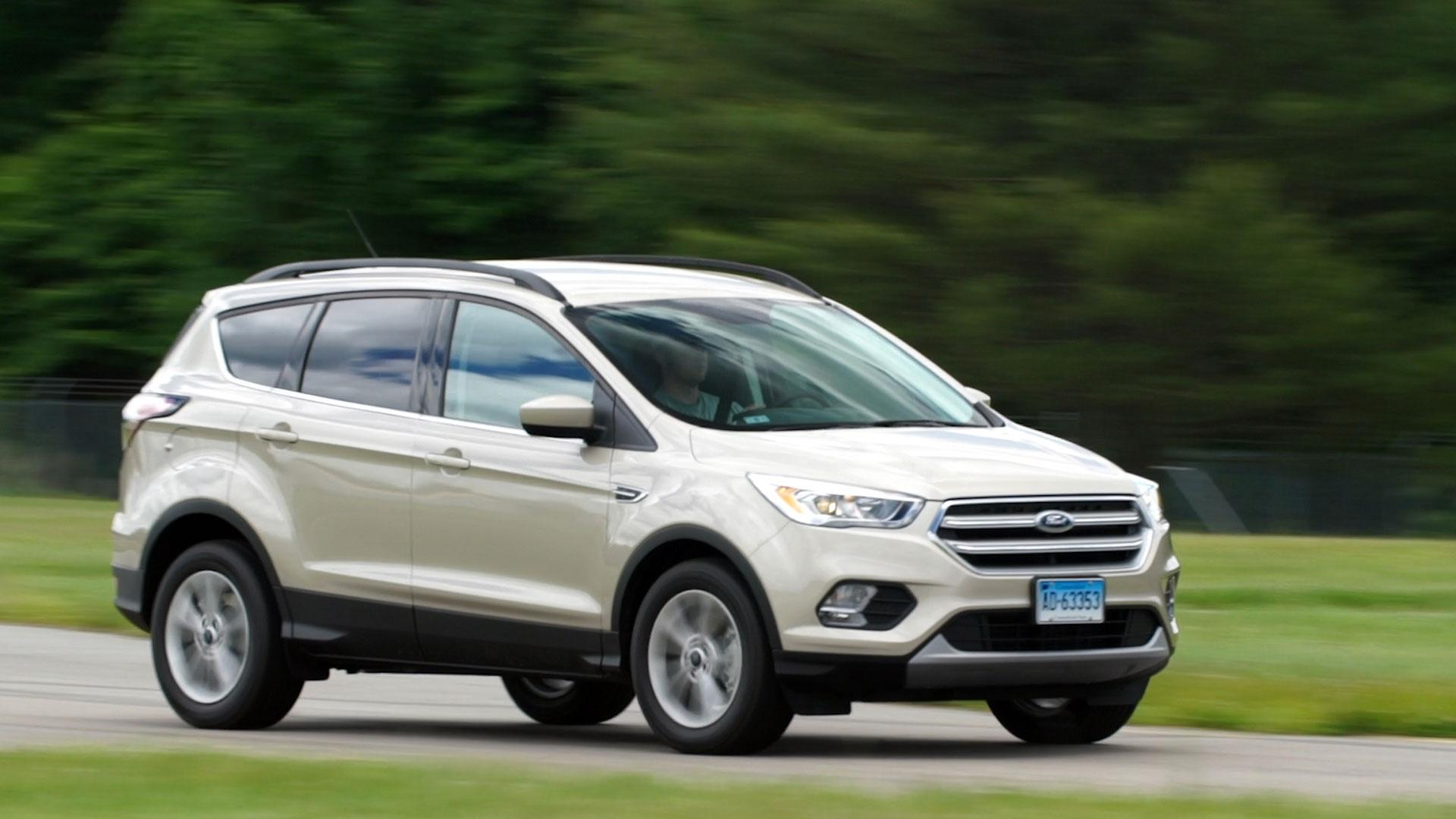 2017 ford escape maintains athletic appeal for a small suv