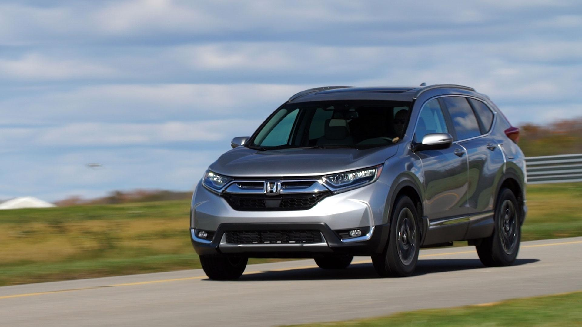Added size sophistication and safety bolster the redesigned suv s appeal 2017 honda cr v