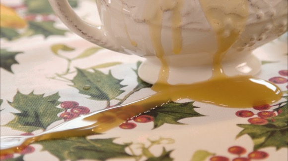 Holiday Stains: Getting out Gravy