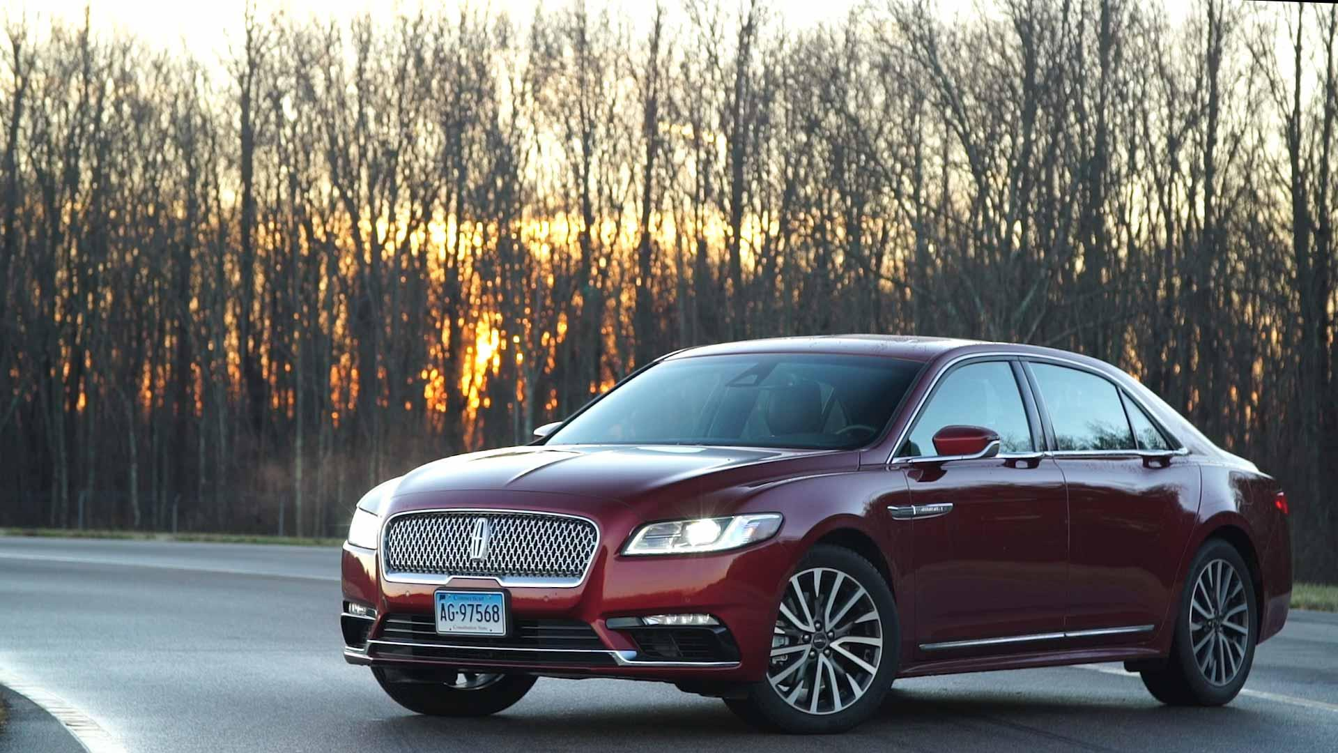 All New 2017 Lincoln Continental Luxury Sedan Consumer