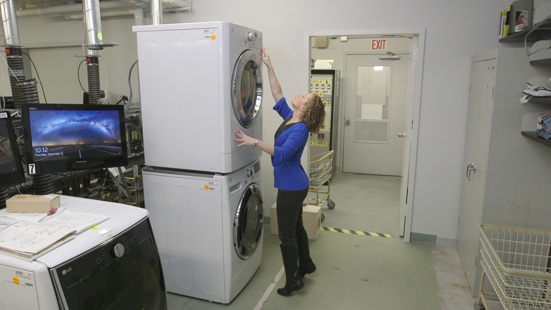 Dryer Too Tall Kenmore Control Panel Can Move