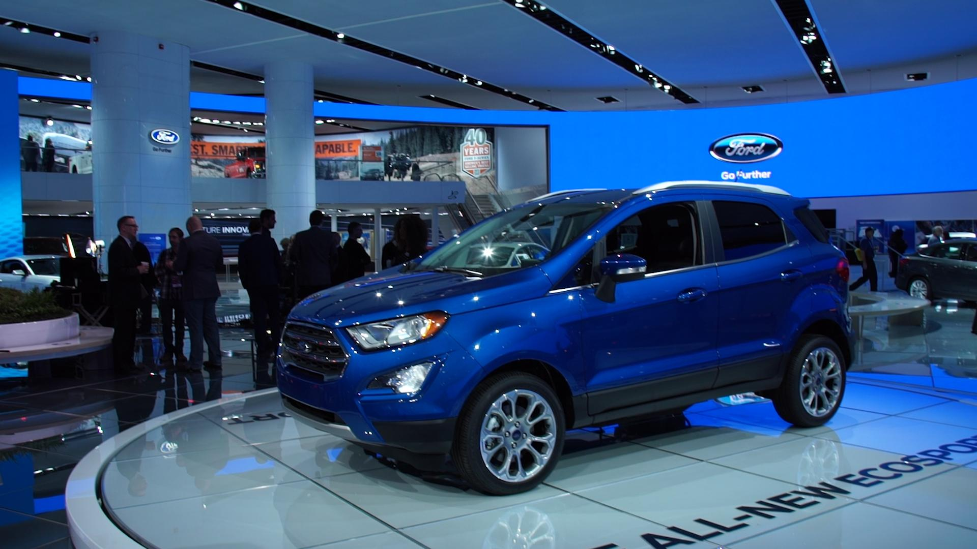 Preview 2018 ford ecosport suv consumer reports