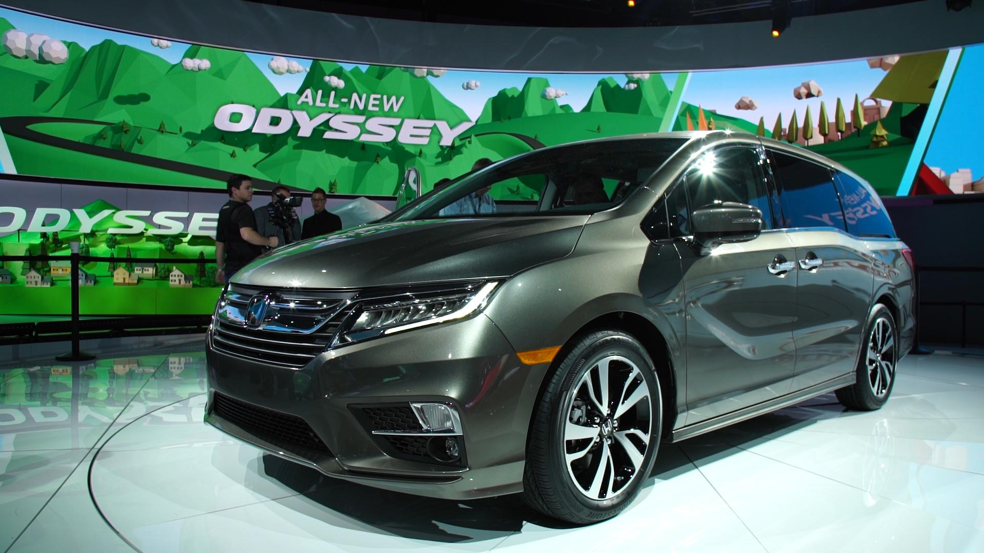 All New 2018 Honda Odyssey Offers High Tech