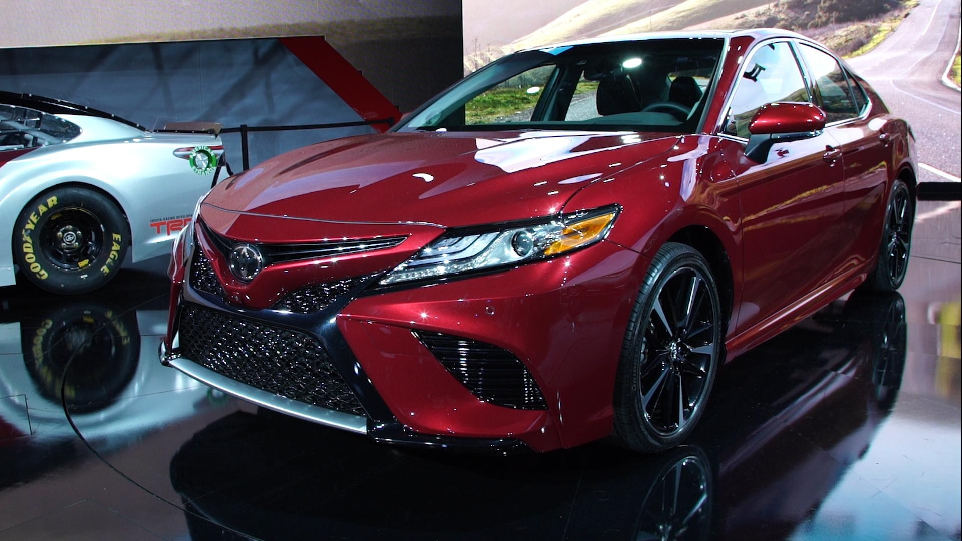All New 2018 Toyota Camry Consumer Reports