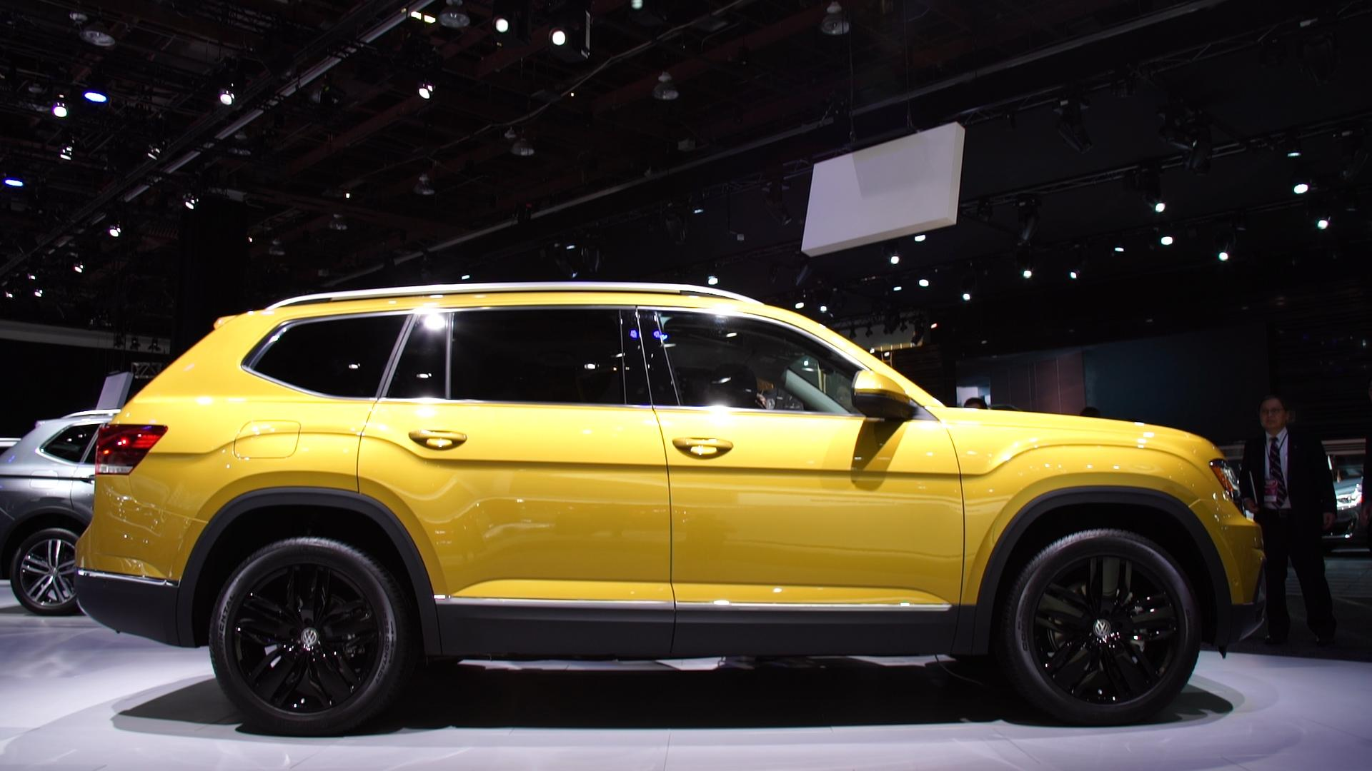 All New 2018 Volkswagen Atlas Adds a Three Row SUV to Carmaker s