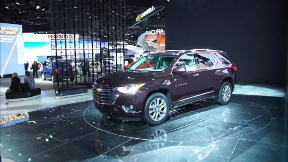2018 Chevrolet Traverse Preview