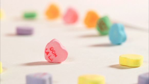 What 100 Calories of Valentine's Candy Looks Like
