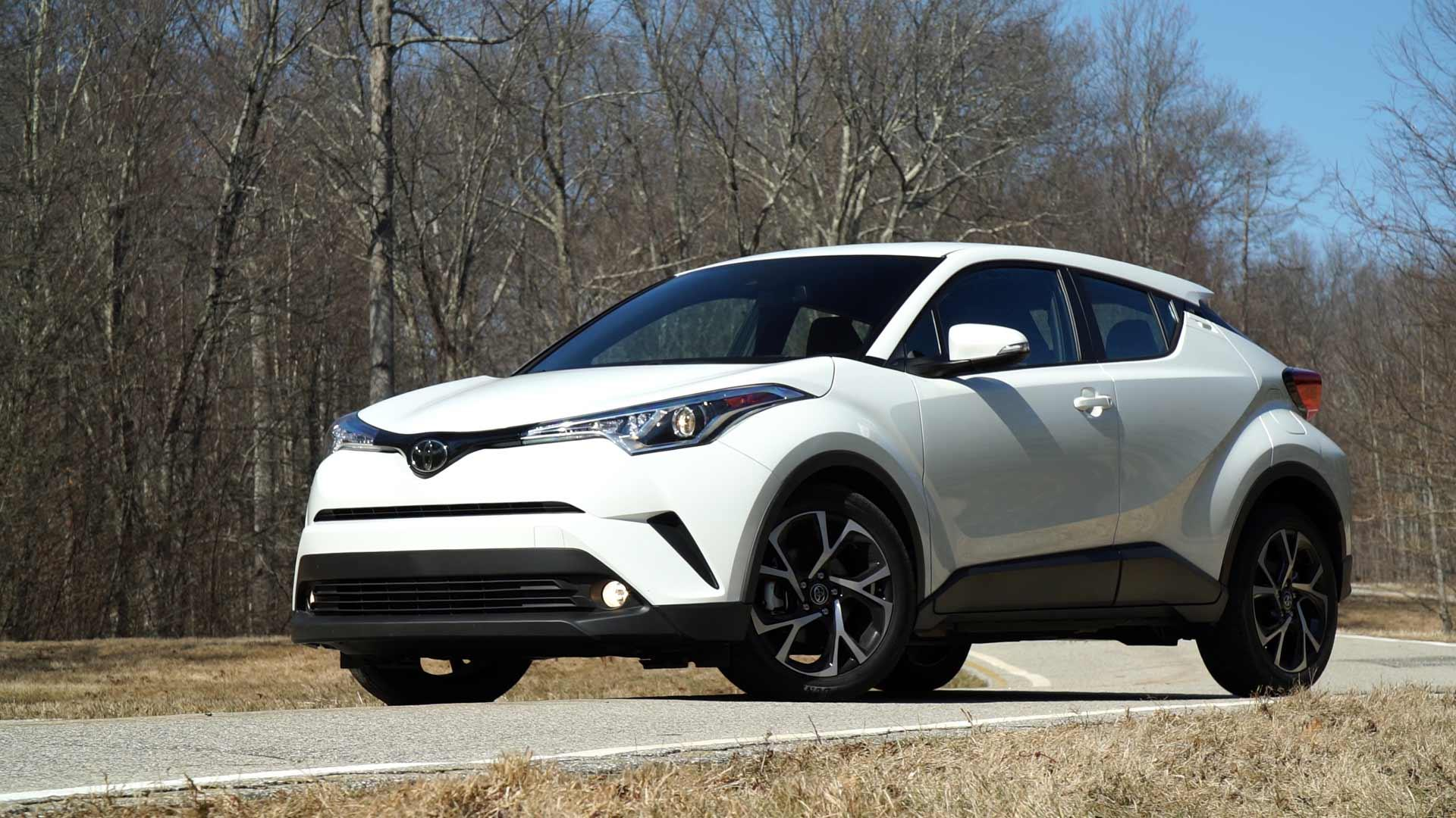 2018 toyota c-hr review - consumer reports