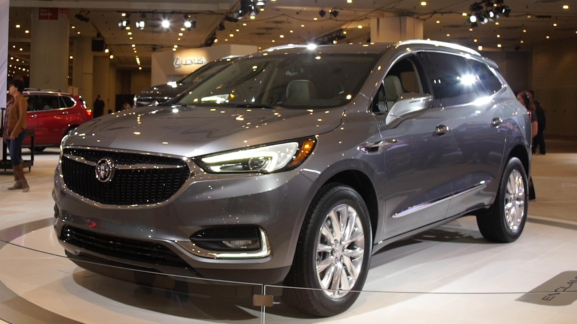 2018 Buick Enclave Suv Moves Upscale Consumer Reports
