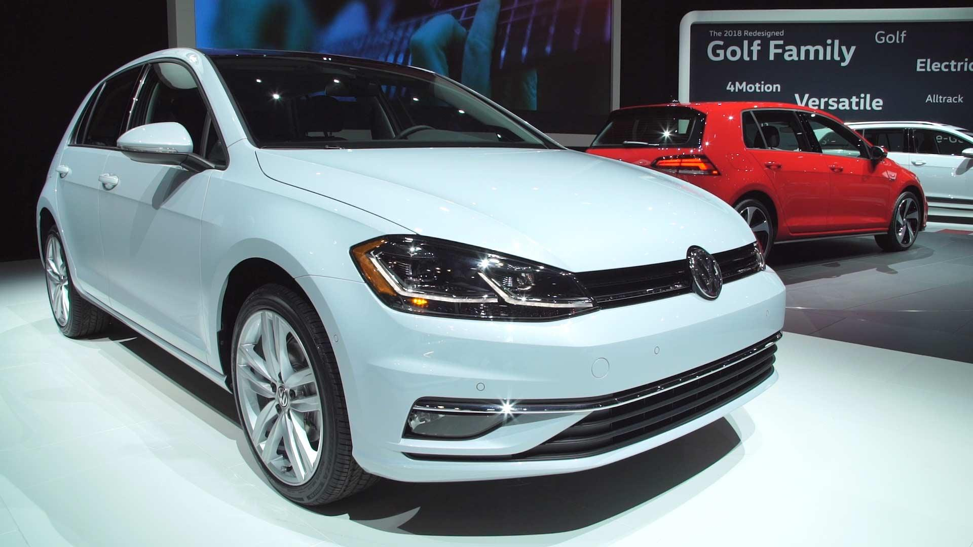 Volkswagenu0027s Golf Family Gets Refreshed