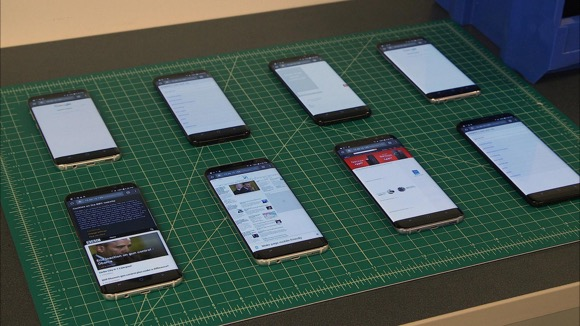 Samsung Galaxy S8 Smartphones: Early Test Results