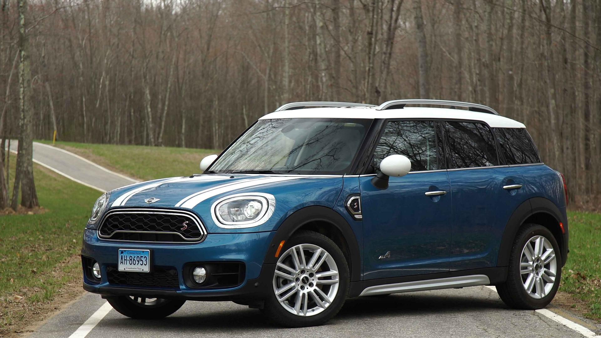 2017 mini cooper countryman review - consumer reports