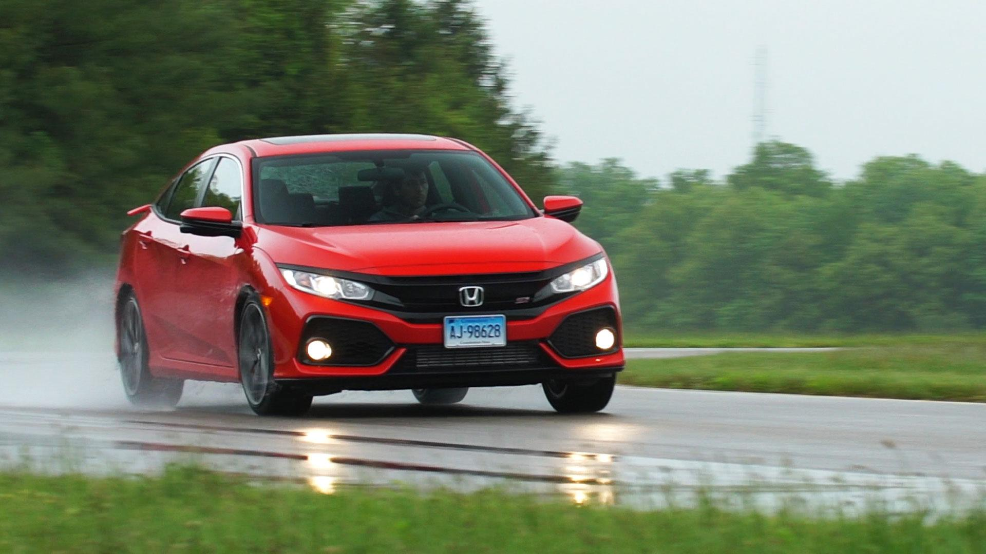 Sporty 2017 Honda Civic Si Lacks Spice Consumer Reports