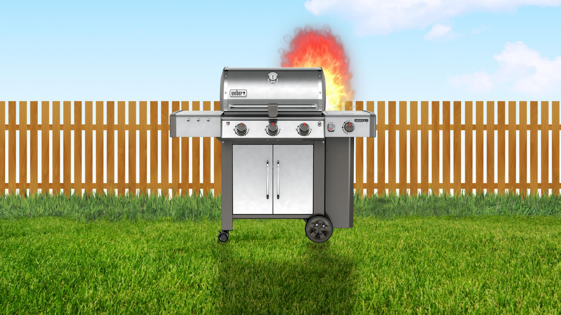 Make a Stainless Steel Grill Last