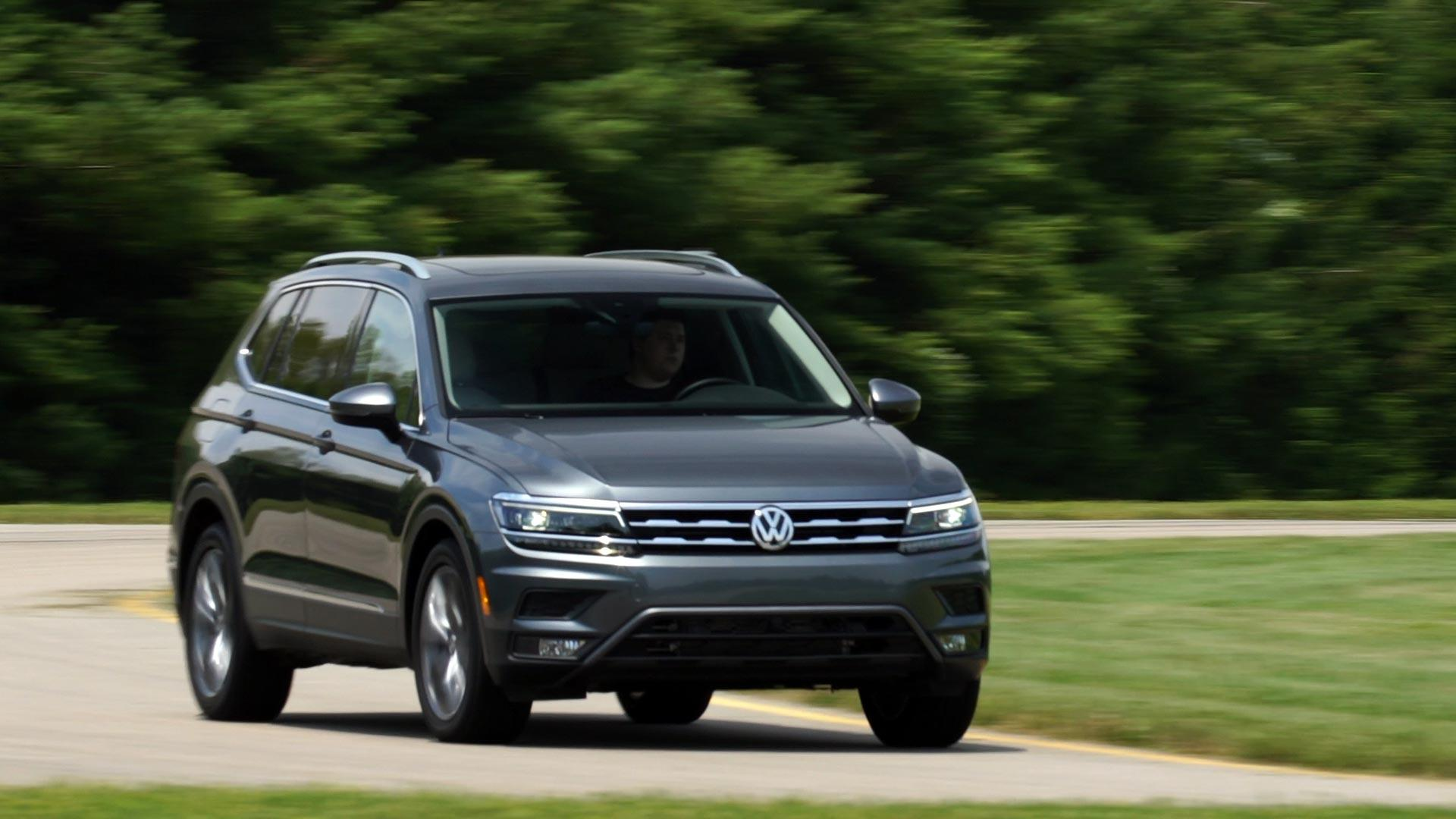 2018 Volkswagen Tiguan First Drive Review Consumer Reports