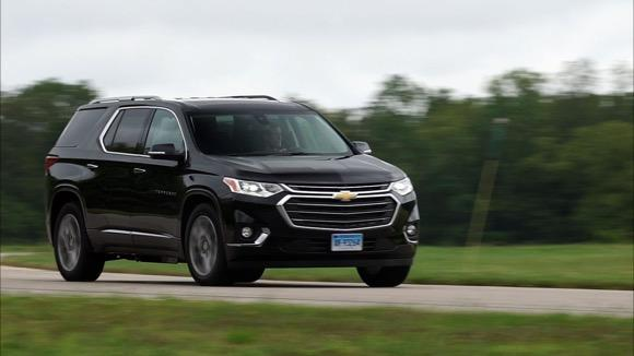 Chevrolet Traverse 20092012 Road Test