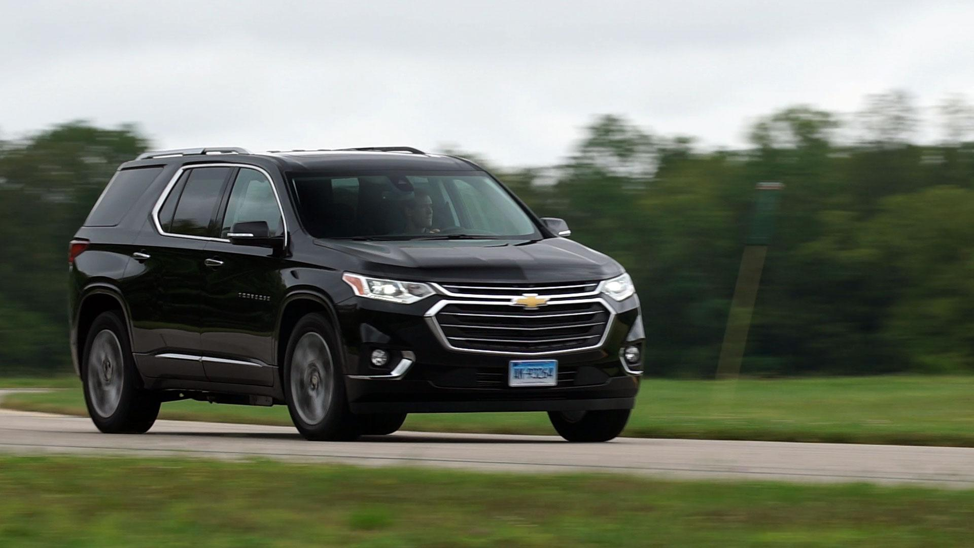 All New 2018 Chevrolet Traverse Review Consumer Reports