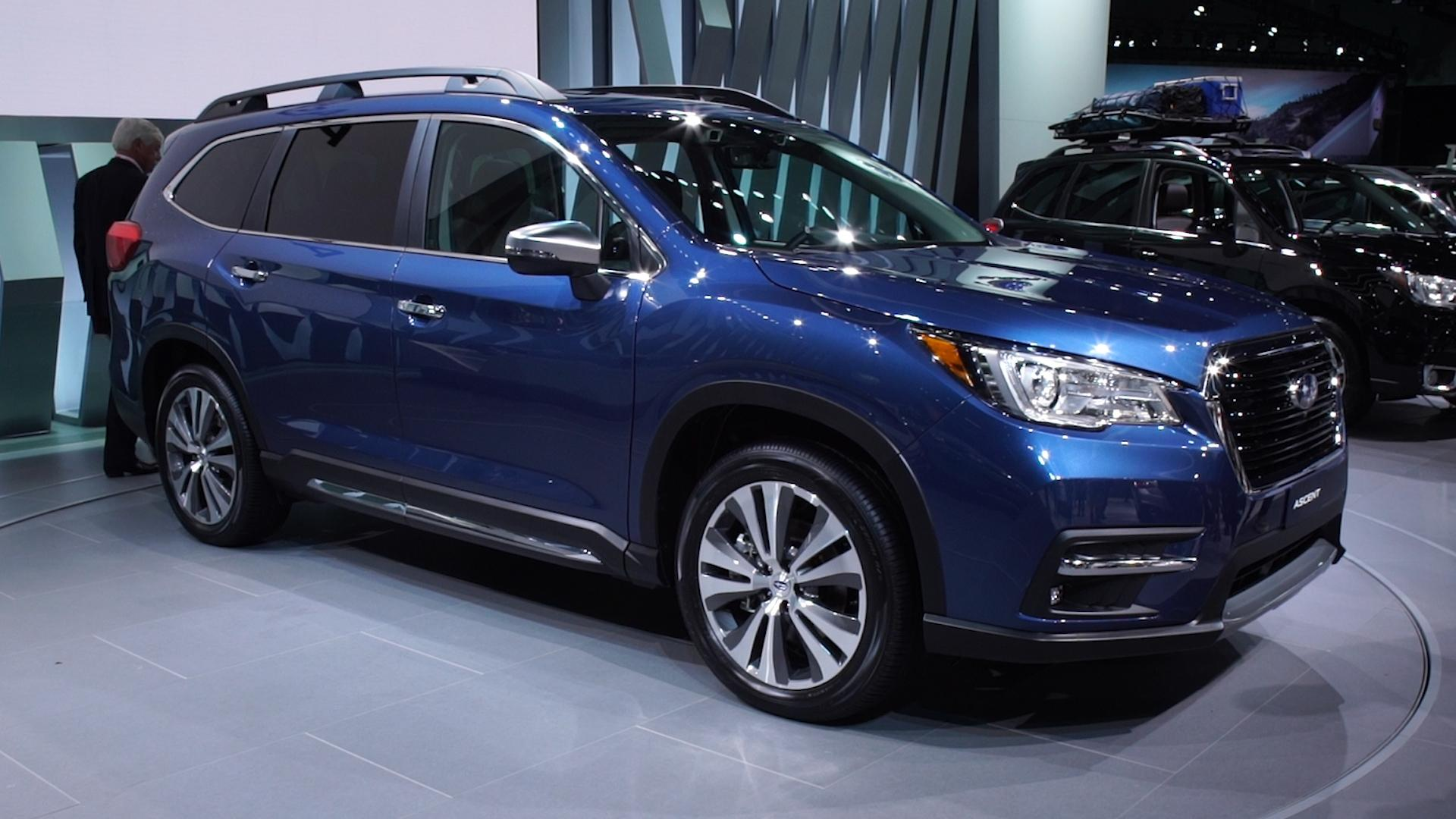 2019 subaru ascent fills an suv sized hole consumer reports. Black Bedroom Furniture Sets. Home Design Ideas