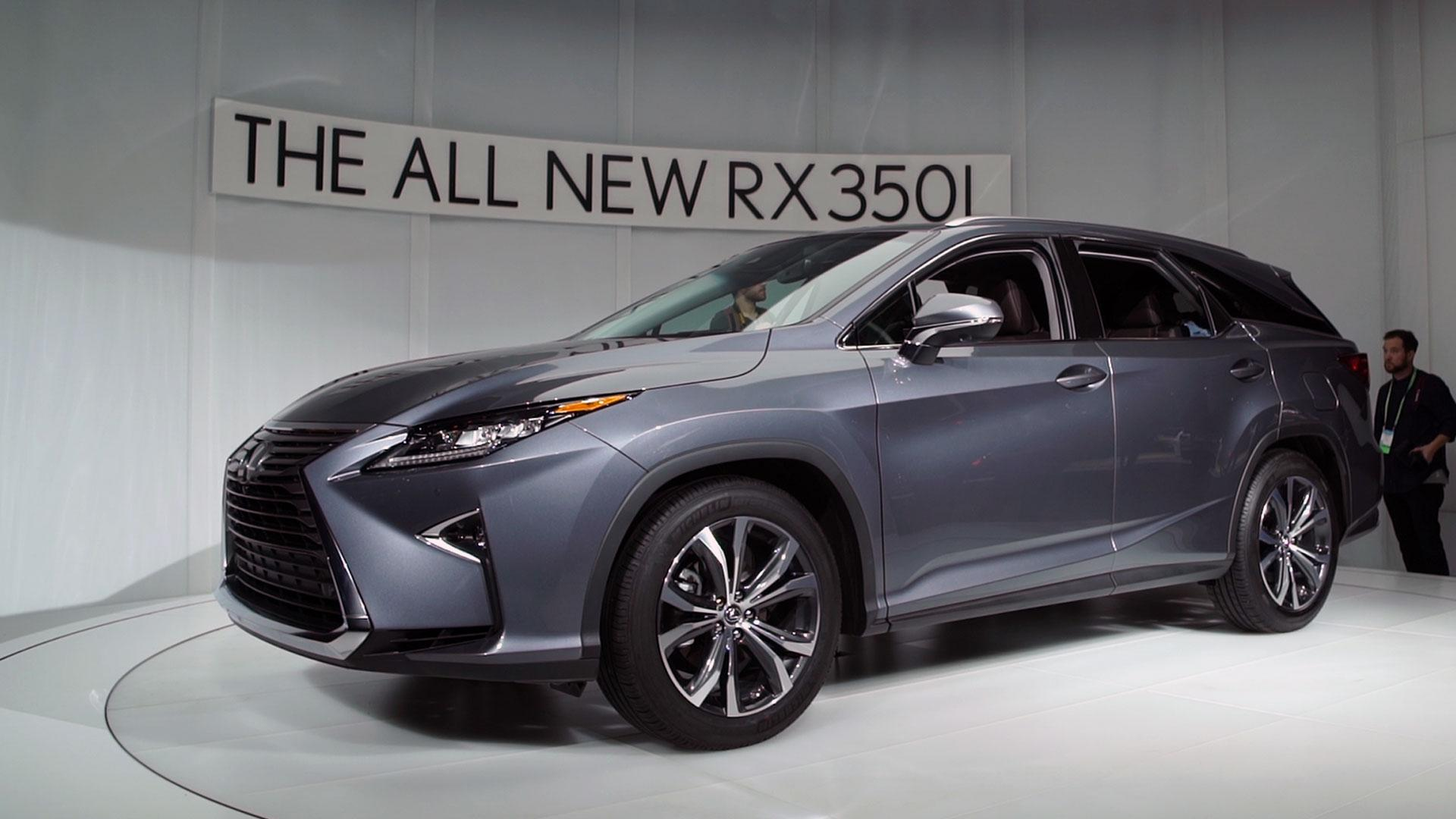2018 Lexus RX L SUV Preview Consumer Reports