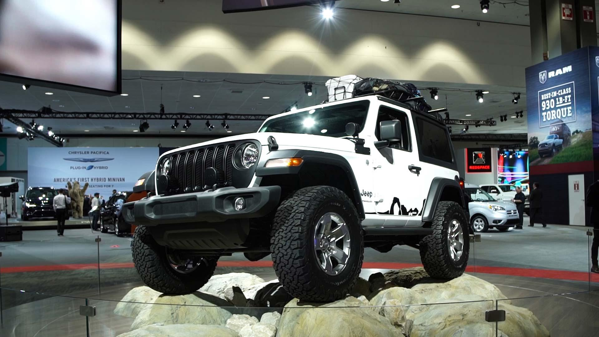 2018 Jeep Wrangler Preview Consumer Reports Jk With 37 Inch Tires Play Video
