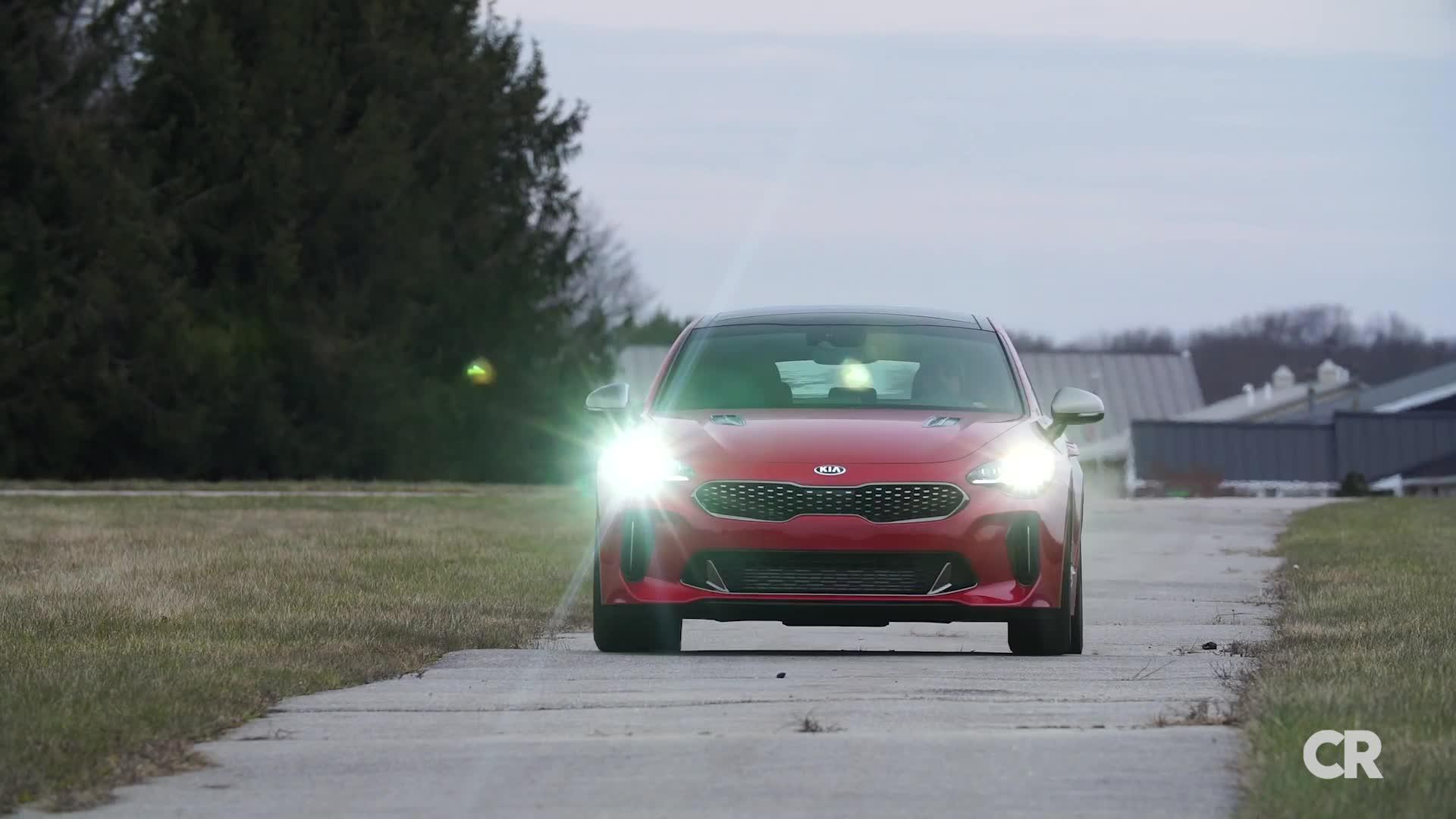 2018 Kia Stinger Review: Striving to Be Sporty