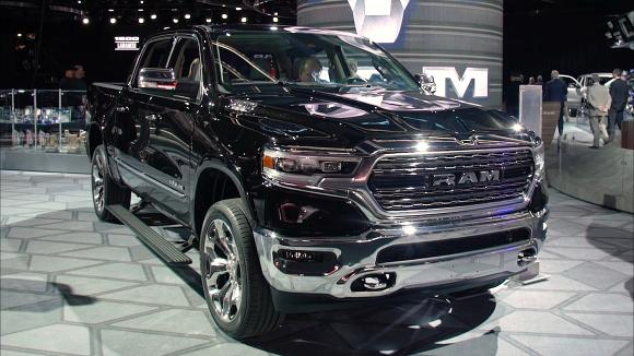 2018 Detroit Auto Show: 2019 Ram 1500 Remains Big and Brawny